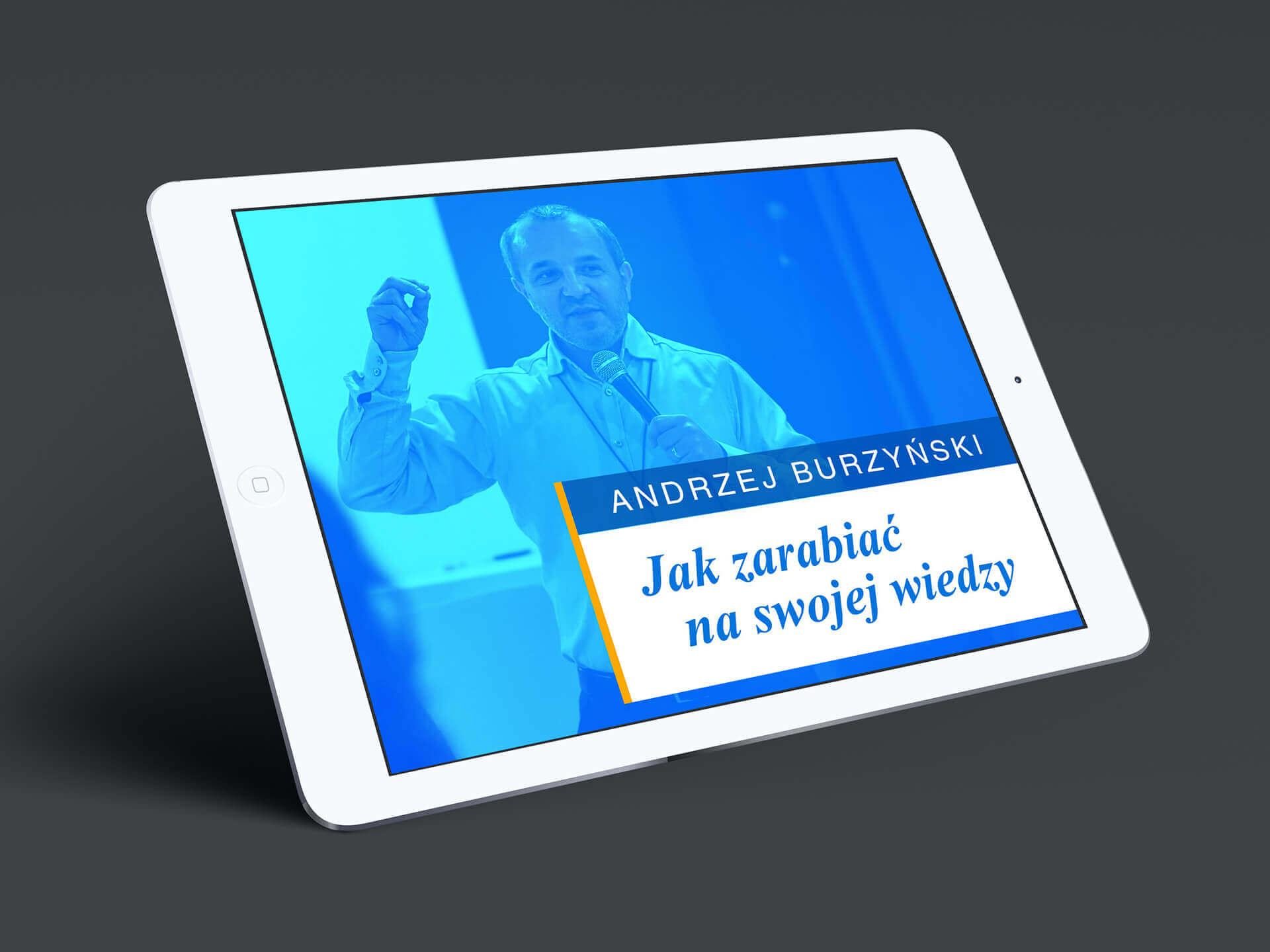 Andrzej Burzyński - przykładowe slajdy z prezentacji